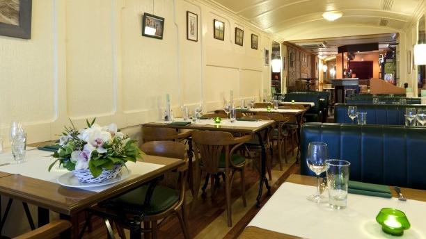 Le Thermomètre Salle du restaurant
