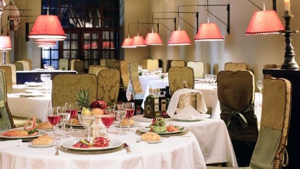 Restaurante Parador de Zafra Vista sala