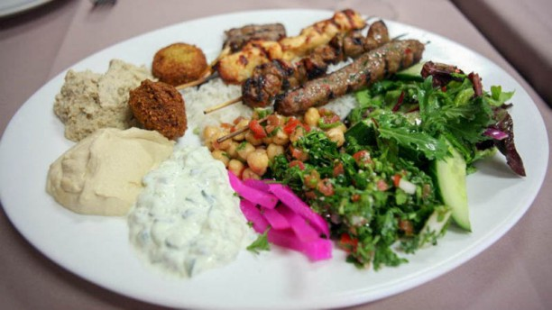 O Beyrouth Assiette mixte