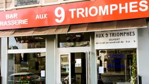 Brasserie aux 9 Triomphes, Lyon