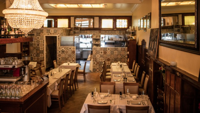 Het restaurant - La Storia della Vita, Amsterdam