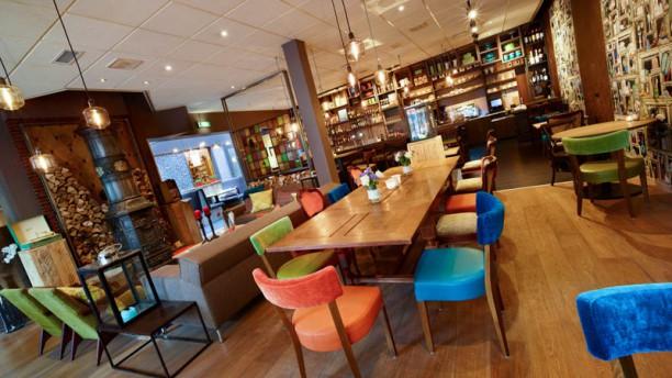 Hotel Restaurant  Villa Flora Het restaurant