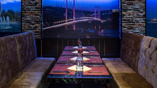 het restaurant - Istanbul Cafe en Restaurant, Nijkerk