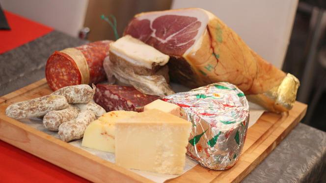 Plateau de charcuterie et fromage - Trattoria Da Aldo, Aix-en-Provence