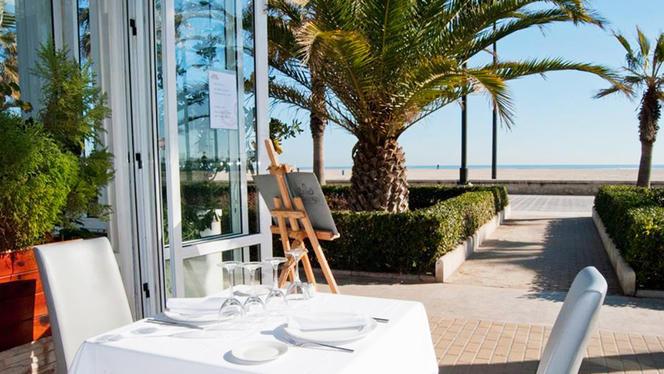 Vista terraza - El Coso del Mar - Hotel El Coso, Valencia