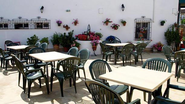 Mesón La Solera La terraza