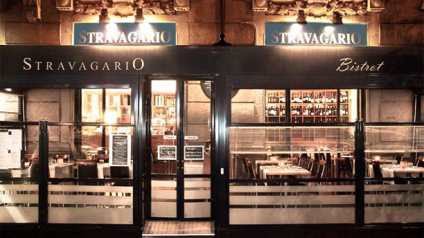 Stravagario bistrot Entrata By Night