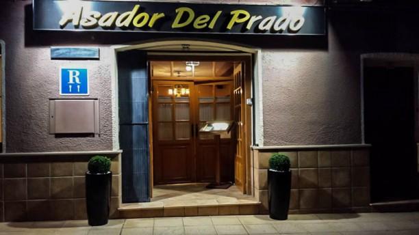 Asador Del Prado Vista entrada