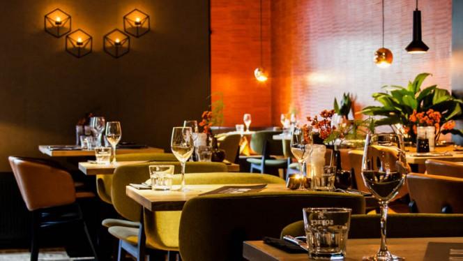 Het restaurant - Black and Blue, Amsterdam