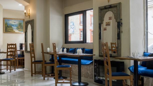 Chez Kamela Salle du restaurant