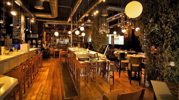 El Portal Taberna & Wines vista sala