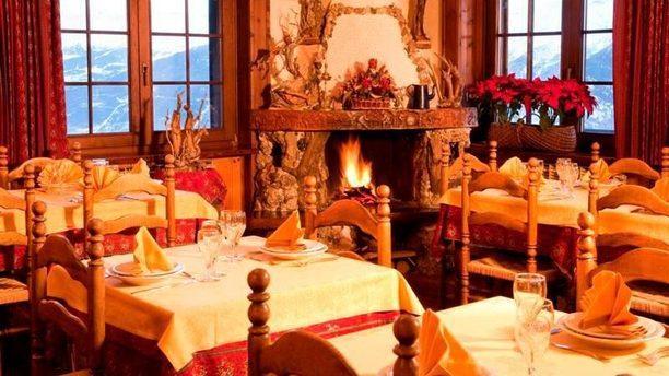 Hotel Ristorante Vagneur Sala interna