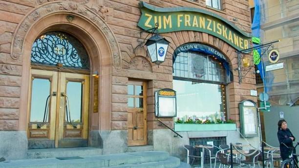 Zum Franziskaner terrace