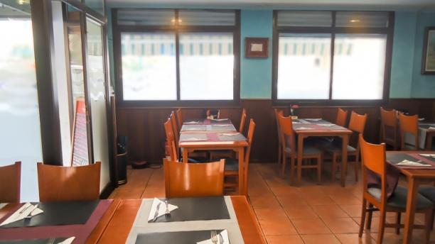 La Madonna I Interior del restaurante