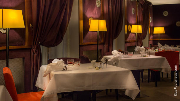 La salle manger h l ne darroze in paris restaurant for Salle a manger menu