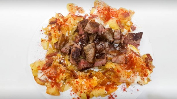 Restaurante Pardo Sugerencia del chef