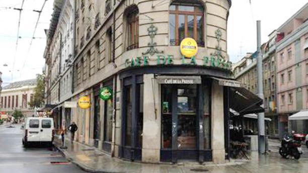 Café de la Presse Vue extérieure