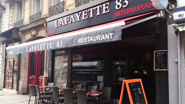 Lafayette 83 devanture