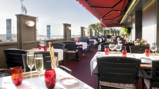 Hôtel Restaurant La Matelote la terrasse