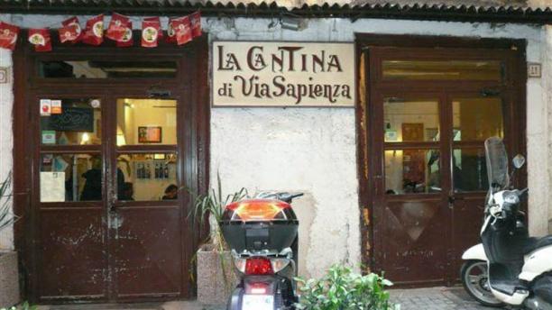 La cantina di via Sapienza Facciata