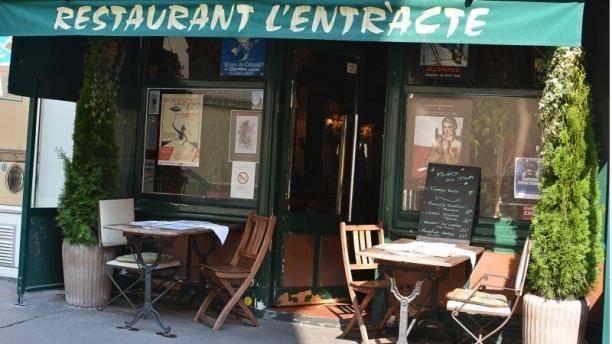 L'Entracte Bienvenue au restaurant L'Entracte