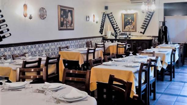 Restaurante Marquês d'Avenida Vista da sala
