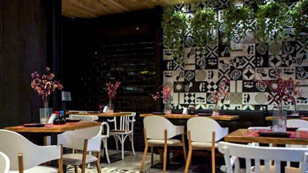 Moshi Moshi - Juquehy Vista do interior