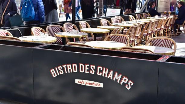 Bistro des Champs Terras