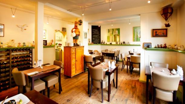 Eetcafé de Gans restaurantzaal
