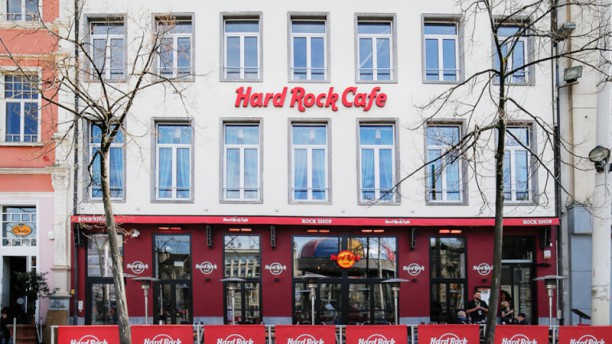 Hard Rock Cafe Antwerp Façade