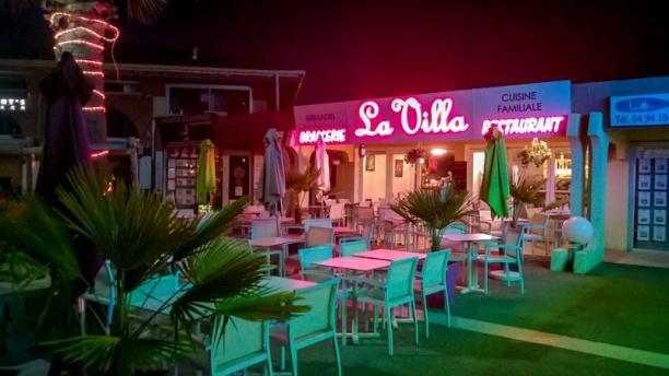 La Villa Terrasse du restaurant