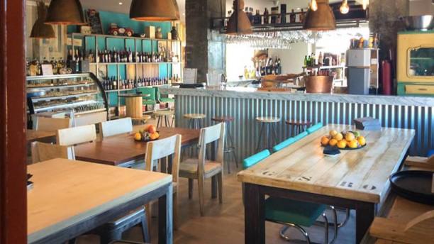 La Gastro Croquetería de Alpedrete Vista del interior