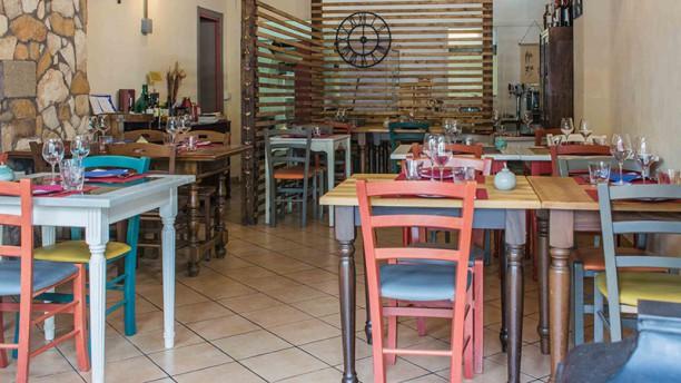 La Sciuscella taverna vegetariana e vegana Vista della sala