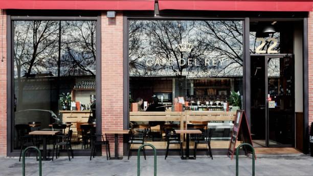 Café del Rey entrada