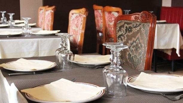 Kashmir House Tables dressées