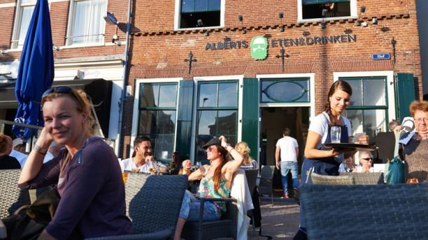 Alberts Eten & Drinken Ingang