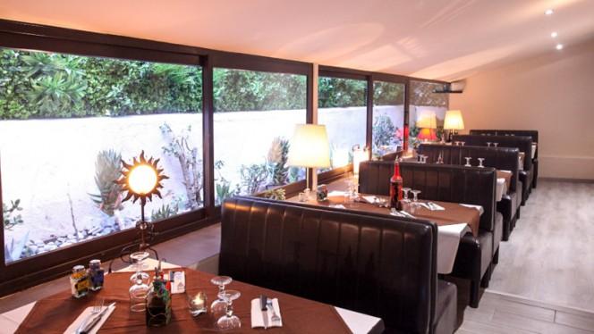 Salle du restaurant - La Paiotte Cosy, Nice