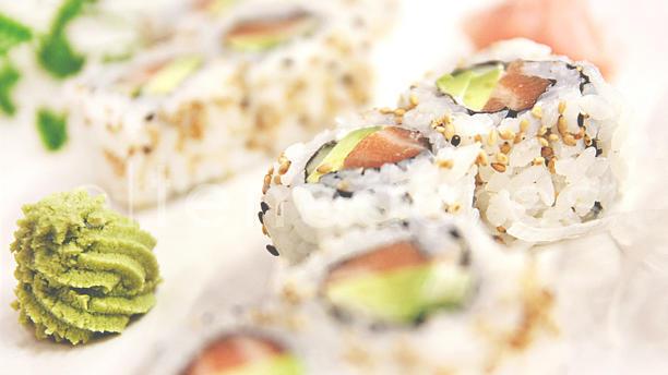 Té Oriental genérica sushi