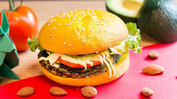 Vita Italian Burger Torino Burger veg