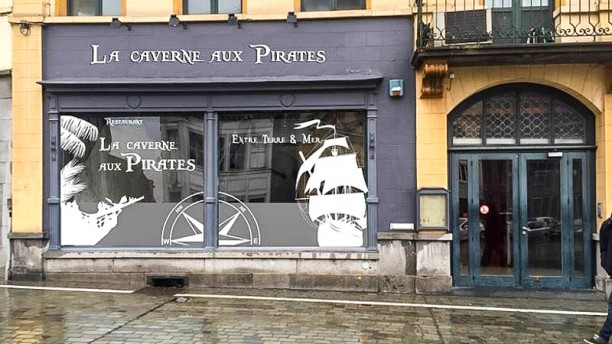 La Caverne Aux Pirates Devanture