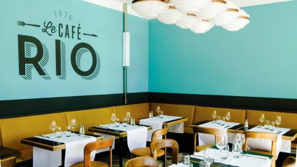 Café RIO Vue de la salle