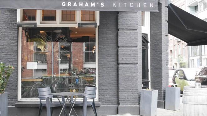 Ingang - Graham's Kitchen, Amsterdam