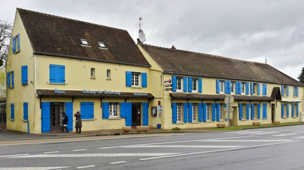 Le Relais de Villeroy Façade du restaurant