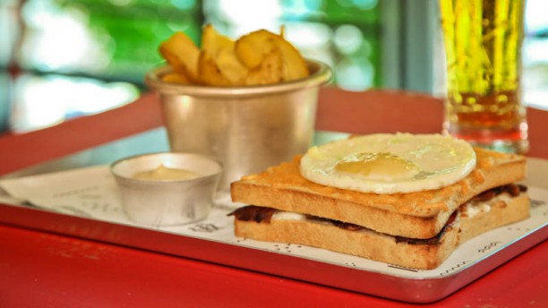Toast to Coast Croque Madame