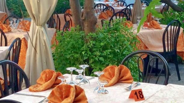 Corte degli Aranci giardino estivo