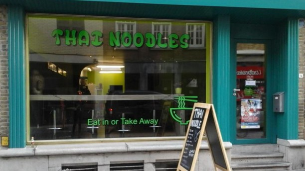 Yathida's Noodle House Façade