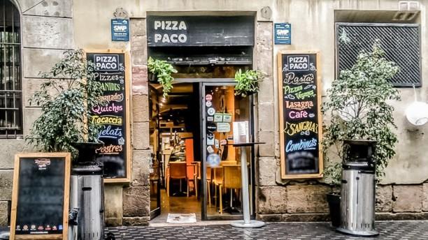 Pizza Paco Entrada