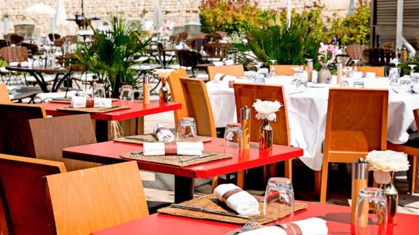 L'Orangerie - Hôtel Aquabella - Groupe Partouche Aix-en-Provence La terrasse
