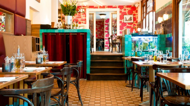 Oud Zuid restaurantzaal