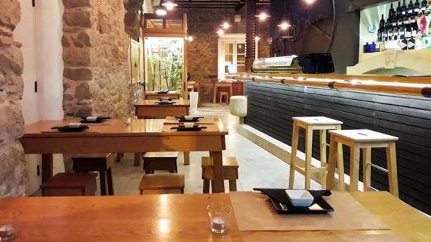 Funky Sushi Bar Vista da sala